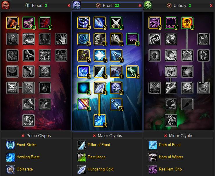 Frost Dk Pvp Build